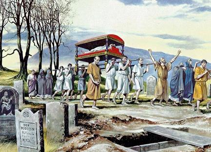 Que deviennent les rites mortuaires si essentiels pour tous ?